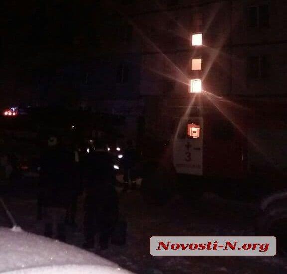 В Николаеве произошел пожар в многоэтажке (ФОТО)