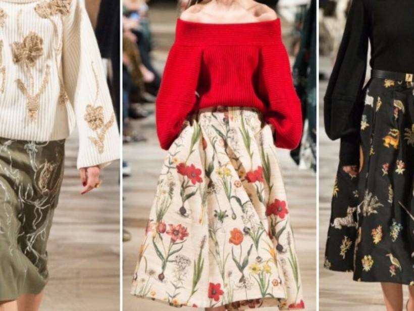 Модные юбки 2019: стиль 90-х, шелк, «гусиная лапка» и кожа (ФОТО)