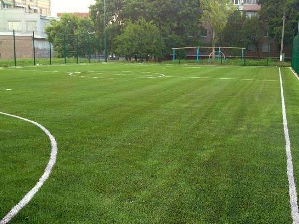 Для сельской школы в Одесской области построят футбольное мини-поле