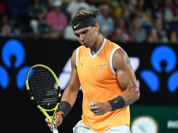 Испанец Надаль в шестой раз в карьере вышел в полуфинал Australian Open