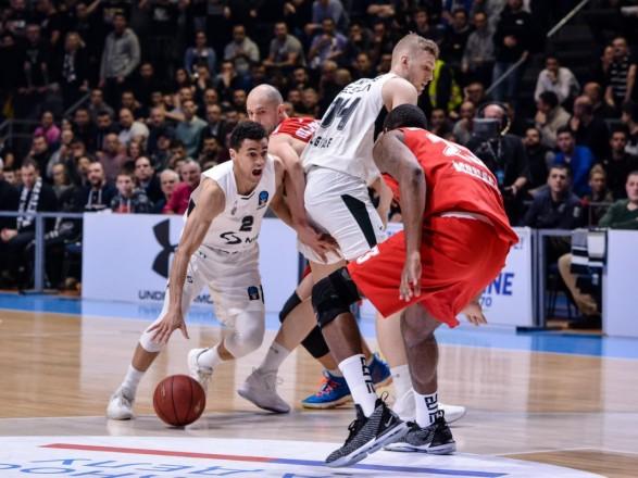 """Украинец помог БК """"Монако"""" одержать вторую победу в топ-16 Еврокубка"""