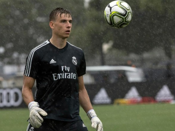 Испанский клуб изъявил намерение арендовать Лунина