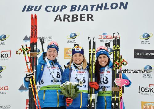 Украинская биатлонистка победила на гонке Кубка IBU в Германии